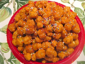 Struffoli for Christmas