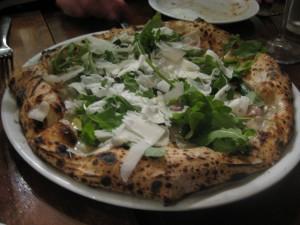 Grana Padano Pizza at Keste