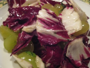Radicchio and Grape Salad