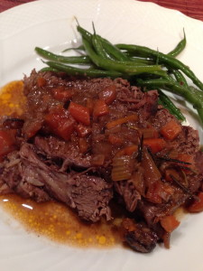 Red Wine Braised Pot Roast