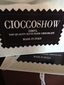 The Chocolate Show in Bologna, Italy