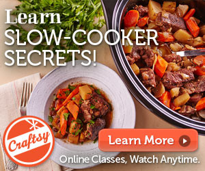 Learn Slow Cooker Secrets on Craftsy.com